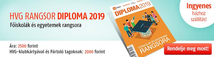 HVG Rangsor Diploma 2019  kép
