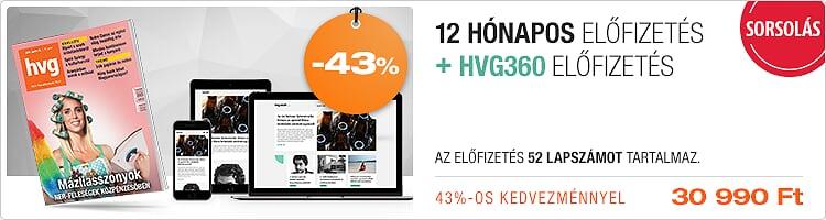 HVG + HVG360 12 hónapos kombó kép