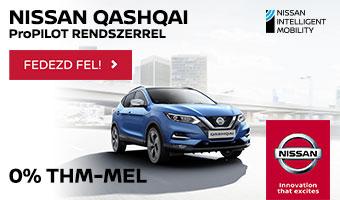 A cikksorozat támogatója a Nissan