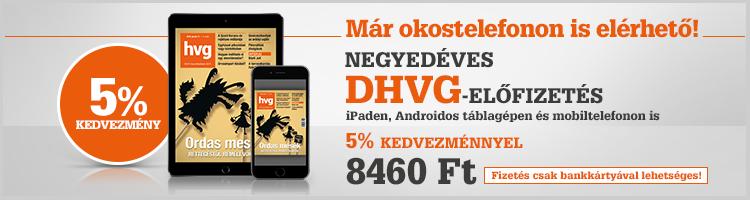 DHVG 3 hónapos előfizetés kép