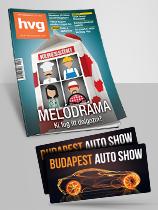 HVG+2db Autóshow belépő előfizetési csomag