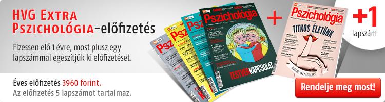 HVG EXTRA Pszichológia magazint kép
