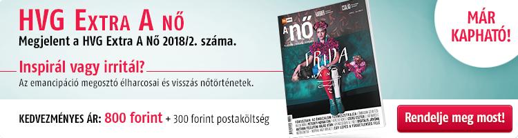 HVG EXTRA A NŐ 2018/2. kép