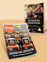 Negyedéves HVG-előfizetés + Kétórás maraton című HVG- könyv