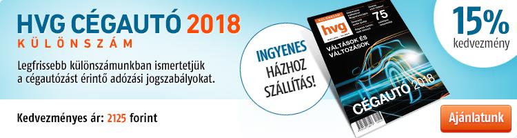 HVG Cégautó 2018 különszám kép