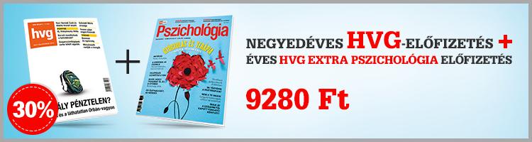 HVG- és Extra Pszichológia-előfizetés kép