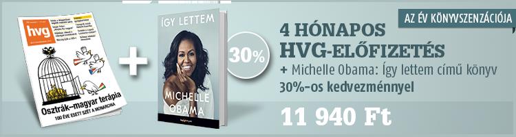 4 hónapos HVG-előfizetés + az Így lettem... című HVG-könyv kép