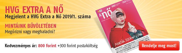 HVG EXTRA - A NŐ 2019/1. kép