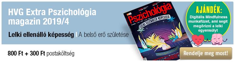 HVG Extra Pszichológia magazin 2019/4 Lelki ellenálló képesség kép