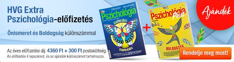 HVG EXTRA Pszichológia éves előfizetés + Pszicho plusz 20/1 kép