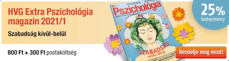 HVG EXTRA Pszichológia magazin 2021/1 kép