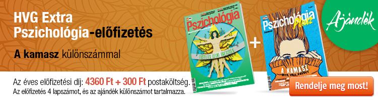 HVG EXTRA Pszichológia éves előfizetés + Pszicho plusz 2021/1 kép