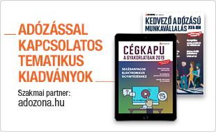 Adózással kapcsolatos tematikus kiadványok