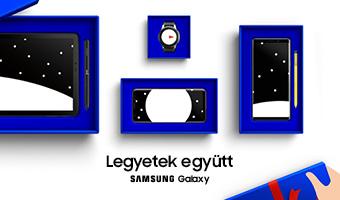 A cikksorozat támogatója a Samsung